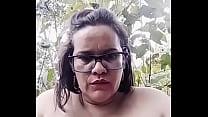 Sexy Mature Latina Outdoors Pt4