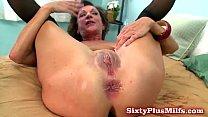 Mature amateur loves anal sex 5 min