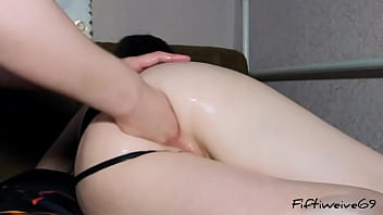 Very hard anal fisting of my ass prolapse and convulsions from orgasm 12 min