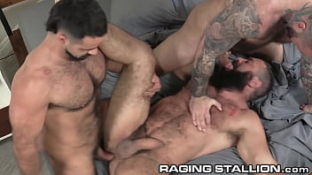 RagingStallion - Three Angry Bears Fuck The Hell Out Of Each Other!