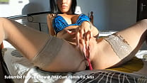 MILF Morning Time Pantyhose Squirting Pussy Action Before Work 81 min