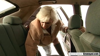 Hungarian Orhidea want some fuck in her retirement years 6 min