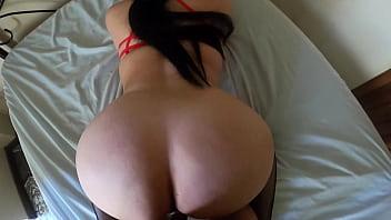 Sexy milf culona venezolana se acuesta con un cliente jovencito peruano en Quito 11 min