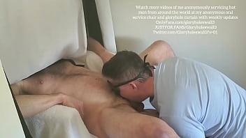 Tall alpha top feeder cums in my throat