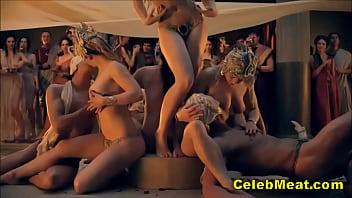 Nude Celebs Laura Surrich & Lucy Lawless Sex Scenes 7 min