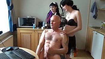 Ulf Larsen - ejaculating, humiliated & peeing!