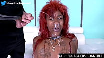 Ebony first timer roughed to extreme