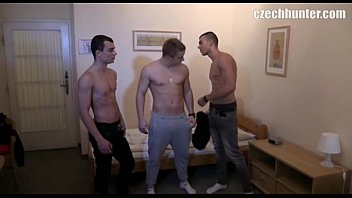 Czech Twink Slides A Strangers Big Cock In His Mouth And Ass In Exchange For Some Cash - CZECH HUNTER 549
