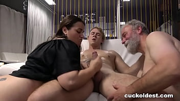 Granny Can't Wait to be Cuckolded 10 min