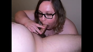Little bit of everything! Wife gets fucked with a toy in her ass, gets assfucked, then blows me