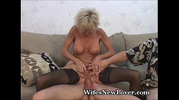 Older MILF Pleasured By Young Lover 3 min