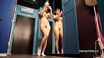 Emily Rose nude selfies at home. Czech home spy cam 3 min