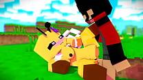 Mulher bloco versão abelha adora na buceta e quer a colonia seja do homem bloco (versão humano)