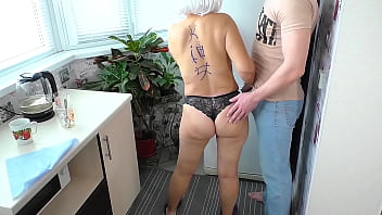 Mom had anal sex with her son and farted with sperm