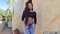 Asian girl has the weirdest tight pussy 5 min