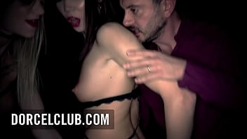 Intense Foursome with the busty french star Tiffany Leiddi and Lovenia Lux in the Club Xtrem