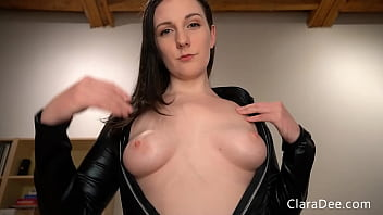 Clara Dee - Sissy's First Pegging POV Virtual Sex - Self facial, CEI, Sissy Training - PREVIEW