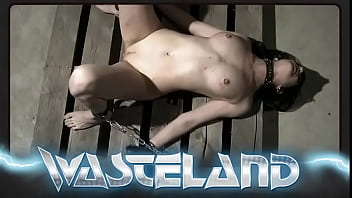 Horny Blonde Face Fucked While Bound on her Knees And Ropes Behind her Back
