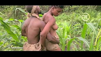 Amaka the village slut visited Okoro in the farm for quick blow job 5 min