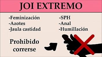 JOI EXTREMO: Anal, feminización, SPH, Azotes,... 12 min
