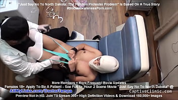 """""""Just Say No To North Dakota: The Pipeline Protester Problem"""" Broadway Star Lilith Rose Cavity Search & Tormented By Doctor Tampa At Morton Country Sheriff Department Jail @ CaptiveClinic.com!"""