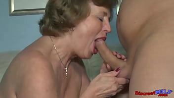 Nymphomaniac granny needs to be fucked every day 16 min