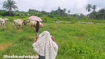 AFRICAN FUCK GIRL FUCK ONE OF THE FULANI HERDSMEN IN A LOCAL CITY JUST TO GET A COW FOR HER MUM'S BURIAL