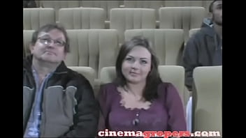 Marilyn Mounds Groped by Strangers in the Cinema !!!