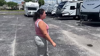 Colombian babe gives pussy ass down payment for RV. La Paisa