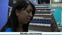 Money does talk for a nasty whore 5