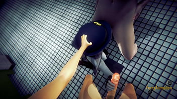 Zootropia Furry Hentai 3D - Judy Hopps in a Threesome with creampie - Disney Yiff Fursuit Manga anime Japanese Porn 10 min