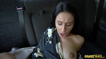Fake Taxi Alyssa Bounty fucked in the arse by a taxi driver in Prague