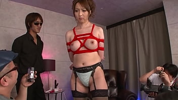 Japanese cutie gets a nuru massage with different vibrators before hard fucking by several men, full uncensored JAV movie 59 min