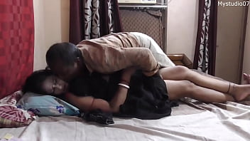 Desi Bhabi unwanted sex with vegetable sales man!! Indian sex with clear Hindi audio 14 min