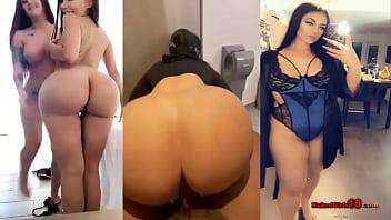 Split Screen Instagram Onlyfans Models Fuck and Striptease Compilation Part 1