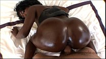 18 yr old ebony teen amateur in Big Booty Black Porn VIdeo