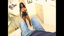 Vanessa Blue fucked in her ass at home