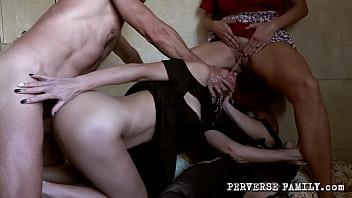 PERVERSE FAMILY Slutty Girlfriend 4 min