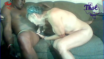 Thot in Texas - Granny Fucker with Two Different Grannies Cum inside Old Pussy Lied To African grandma To Keep Fucking Her Creamy Hairy Pussy Big Giant Fat Black Ass 8 min