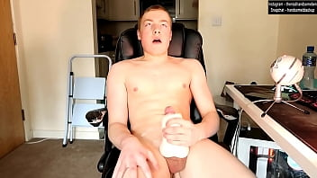 Ride Daddy's Dick And Make Him Cum Inside You - Using Pocket Pussy And Dirty Talking
