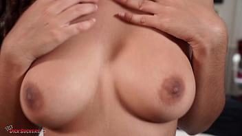 Amateur Arabic babe Luna Silver splattered in semen! 19 min