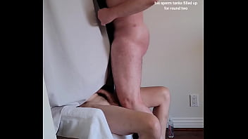 Tall lean hung 20's blonde feeds me four loads anonymously
