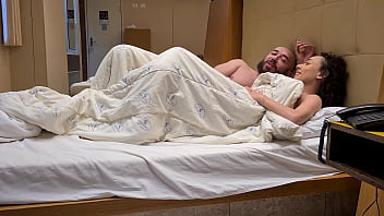Casal de namorados curtindo no hotel após casa de swing 29 min