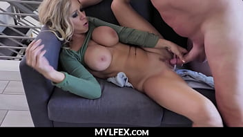 Hot Milf without Clothes, Caught by her Brother in Law - Katie Morgan   MYLFEX.com