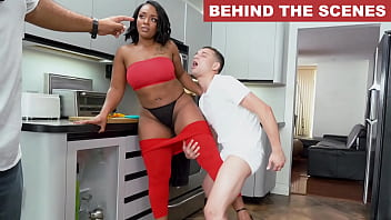 BANGBROS - Brown Bunnies Behind The Scenes With Mimi Curvaceous 10 min