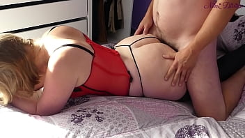 I go to my step sister's bedroom to fuck her huge ass!