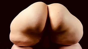 INCREDIBLE FAT Ass Goddess White/BBC Cock Riding 6 min