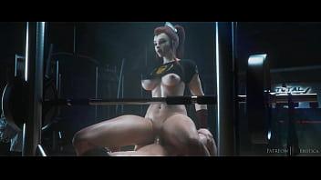Brigitte Fucked and Creampied - Overwatch