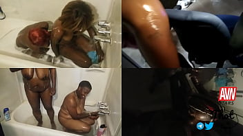 Thotintexas - VJ Quizarters Shower Skinny Fuck