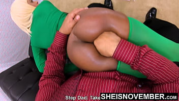 Daddy Pushing In My Black Asshole laying On His Lap, Sheisnovember Thick Thighs Spread Open Fingered Into Her Tiny Little Sphincter Trashing Her Pooter Surrfering And Fearfull Of Step Dad Tough Love by Msnovember   JDG Pornart